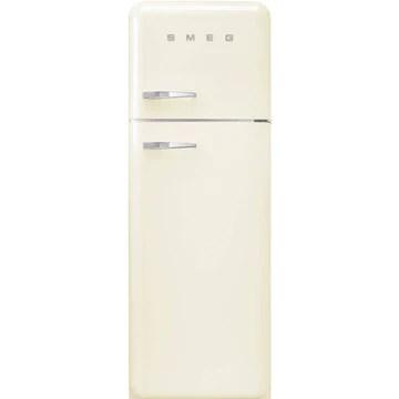 Smeg FAB30RCR3 réfrigérateur-congélateur Autonome Crème 294 L A+++ - Réfrigérateurs-congélateurs (294 L, SN-T, 4 kg/24h, A+++, Nouvelle zone compartiment, Crème)