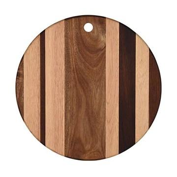 Grunwerg Planche à découper en bois Rond 30cm dia.