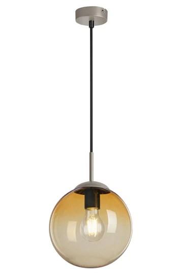 Briloner Leuchten 4010-017 Lampe Suspendue, Verre, Pale Gold