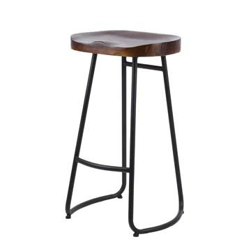KATHER tabourets de Bar Vintage Tabouret de Bar Rustique Design Pub Bar Chaise Tabouret Portable Home Tabouret Universel Pub Meubles