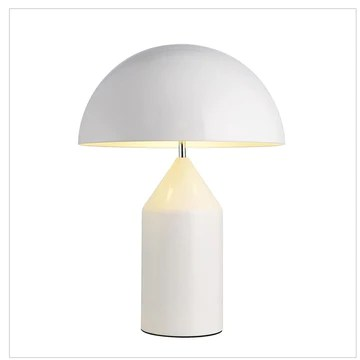 E14 Moderne Contemporain Simple Métal Champignon Lampe de table Lampe de chevet