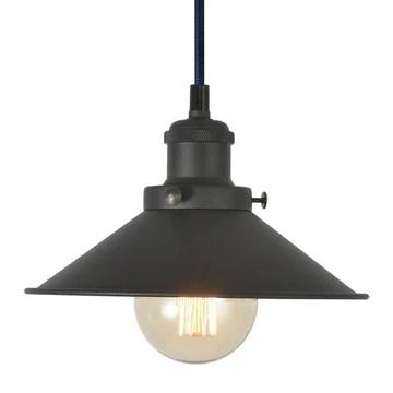 TANGSHI Rétro Industrielle Edison en Métal Suspension Luminaire, Vintage E27 Métal Lampe Pendante Plafonnier DIY, Installation pour Eclairage Cuisine Salle à manger Salon Restaurant Corridor