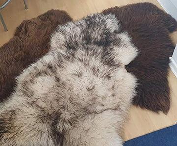 PSB Peau de mouton - Longueur minimale : 110 cm - Tannage végétal - Marron
