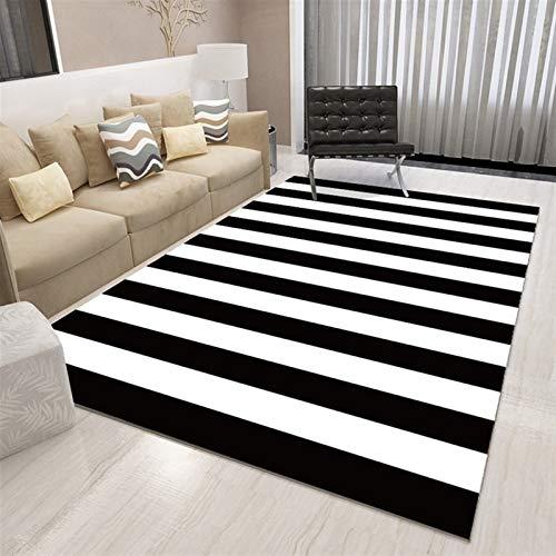 tapis de souris nordic geometrique noir et blanc tapis salon chambre tapis minimaliste moderne tapis chevet balcon hall d entree tapis de lit en