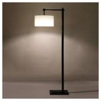 FDOI LAMPADAIRE CHINOIS SIMPLE MODERNE RESTAURANT INVITÉ ÉCLAIRAGE CHAMBRE ÉTUDE VILLA FER TISSU LED HÔTEL LAMPES