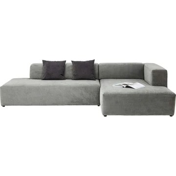 Kare Design Canapé d'angle Pablo Grande Droite Gris