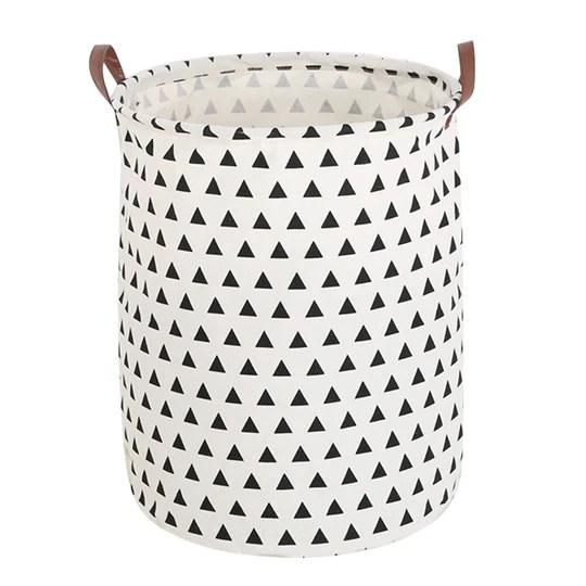 Dooxi Pliable Panier de Rangement avec Poignée Bac à Linge pour Vêtements Stockage de Jouets Household Organisateur