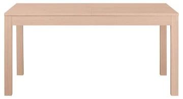 Keo Nano Table avec 2 Allonges Inclus, Bois, Naturel, 160 x 90 x 77 cm