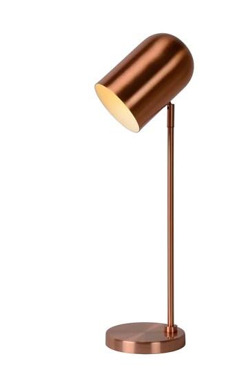 Lucide BLINY - Lampe De Table - Ø 11 cm - Cuivre