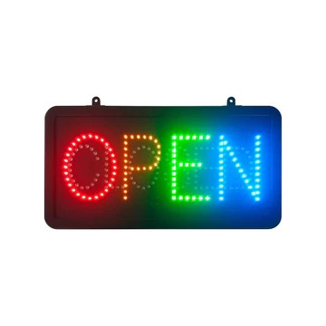 Enseigne lumineuse LED intérieur OPEN/CLOSED