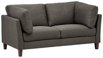 Marque Amazon - Rivet Midtown - canapé moderne à coussins amovibles, 174 cm, Charbon