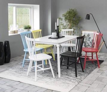 AC Design Furniture Chaise, Bois, Weiß