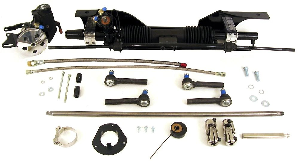 1965 66 mustang power rack pinion for small block