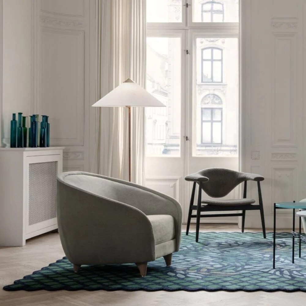 Gubi 9602 Floor Lamp Paavo Tynell Palette Parlor Modern Design