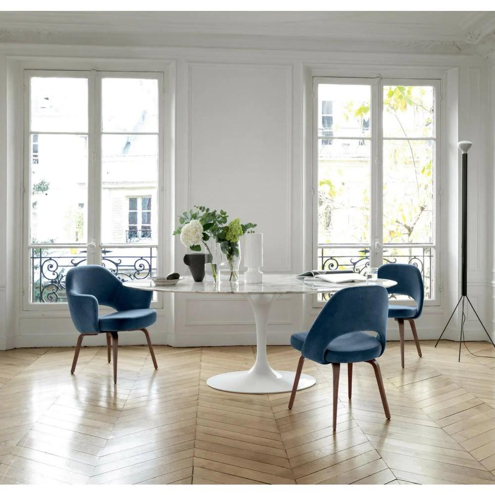 Knoll Saarinen Oval Dining Table Palette Amp Parlor Modern Design