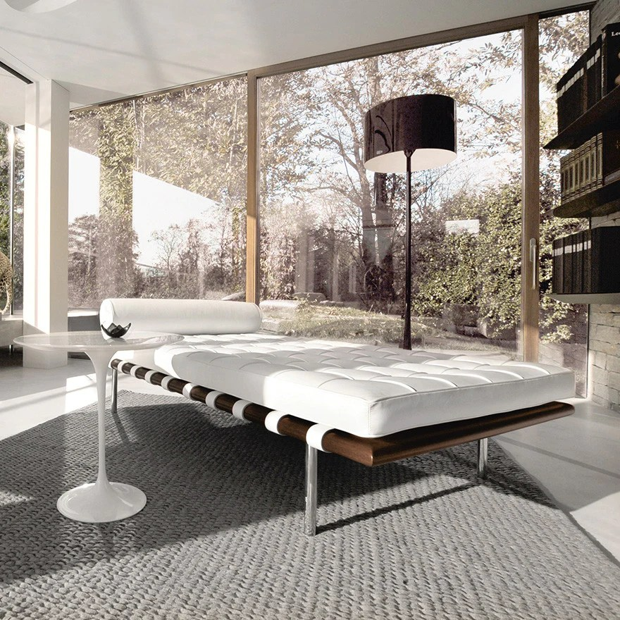 Mies Van Der Rohe Barcelona Couch Knoll Modern