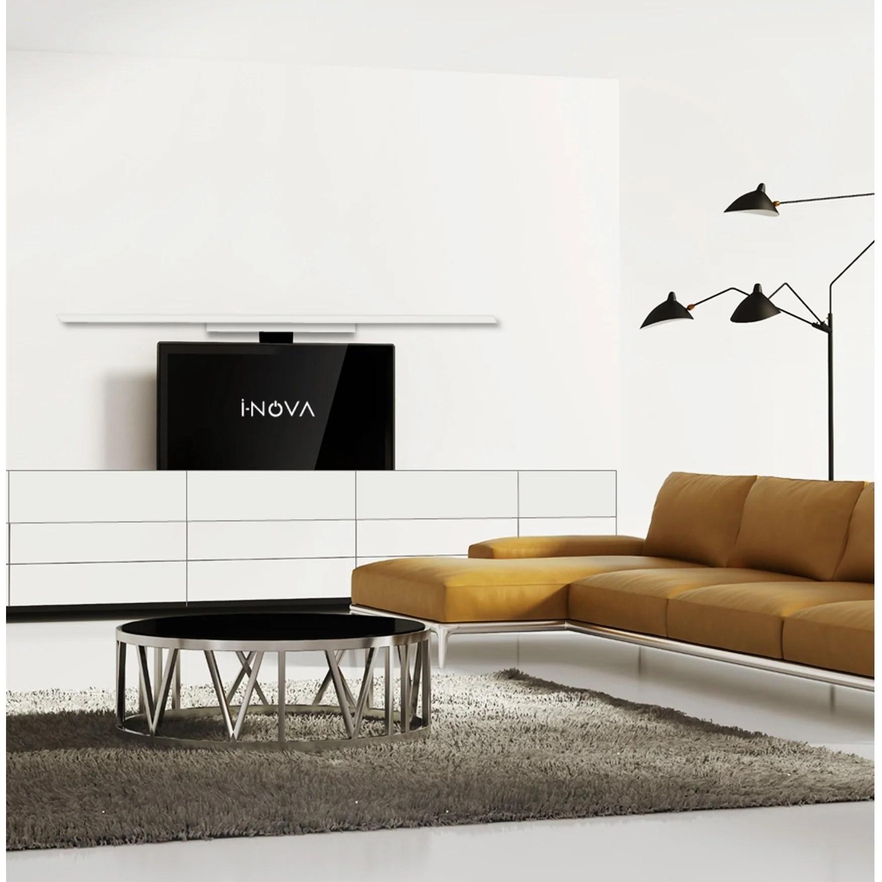 i nova support ascenseur motorise pour ecran tv