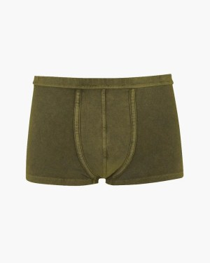 Vintage wash trunks khaki