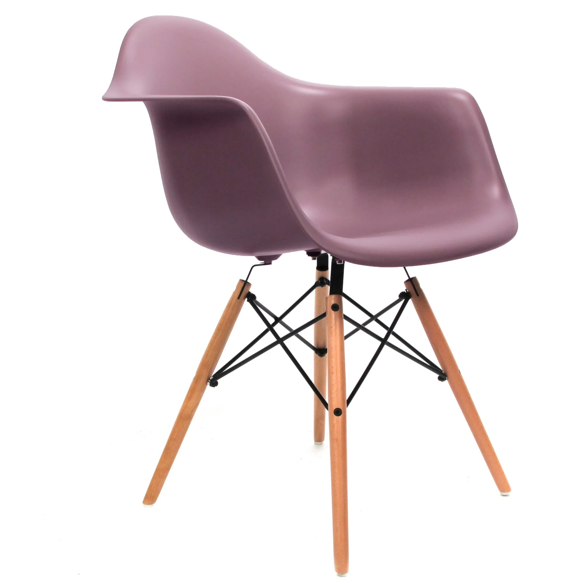 Eames DAW Stuhl mauve grau   Charles & Ray Eames – Furnpact