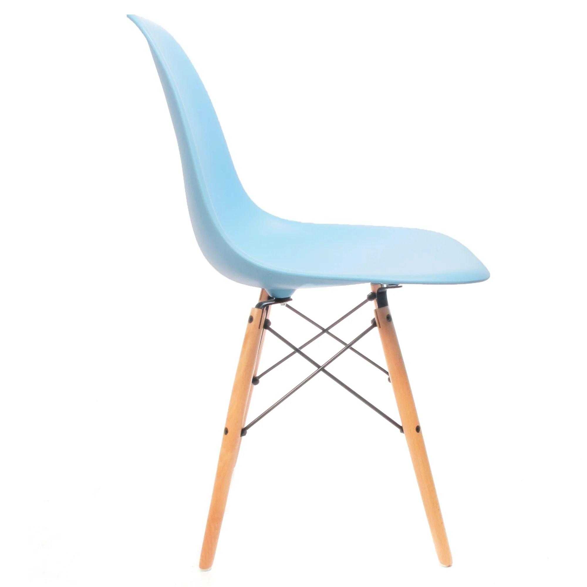 Eames DSW stuhl blau   Charles & Ray Eames chairs – Furnpact