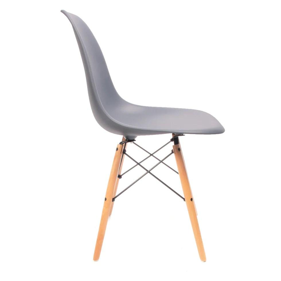 Eames DSW Stuhl Grau   Charles & Ray Eames chairs – Furnpact