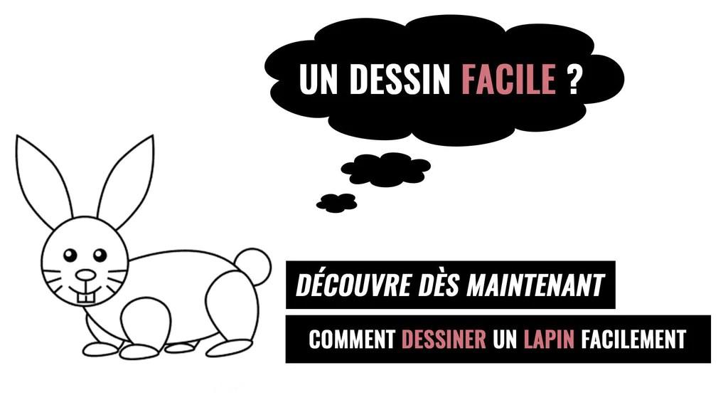 Dessin Lapin Facile Le Terrier Du Lapin
