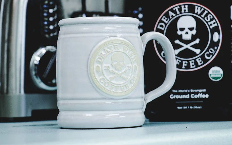 Look At This White Out Version Of Our 2019 Mug Death Wish Coffee Company