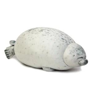 sleepy seal plushie chonky sleepy