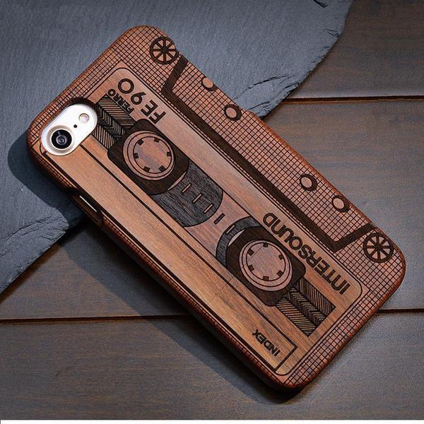 coque iphone 7 plus bois