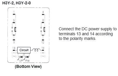 H3Y2 100110VAC Omron Analog Mini Timer | jababekaelektric