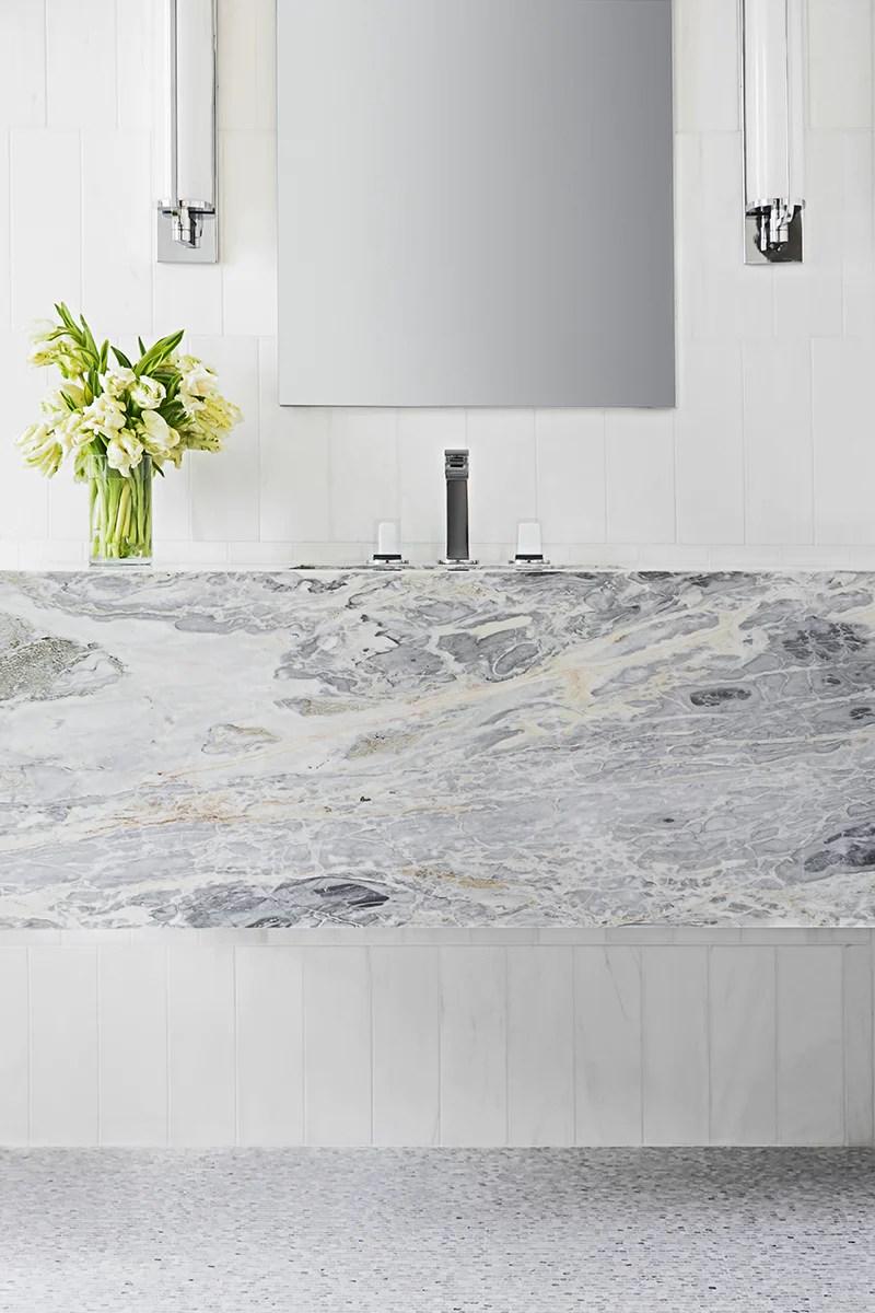 calacatta bluette marble slab 3 4