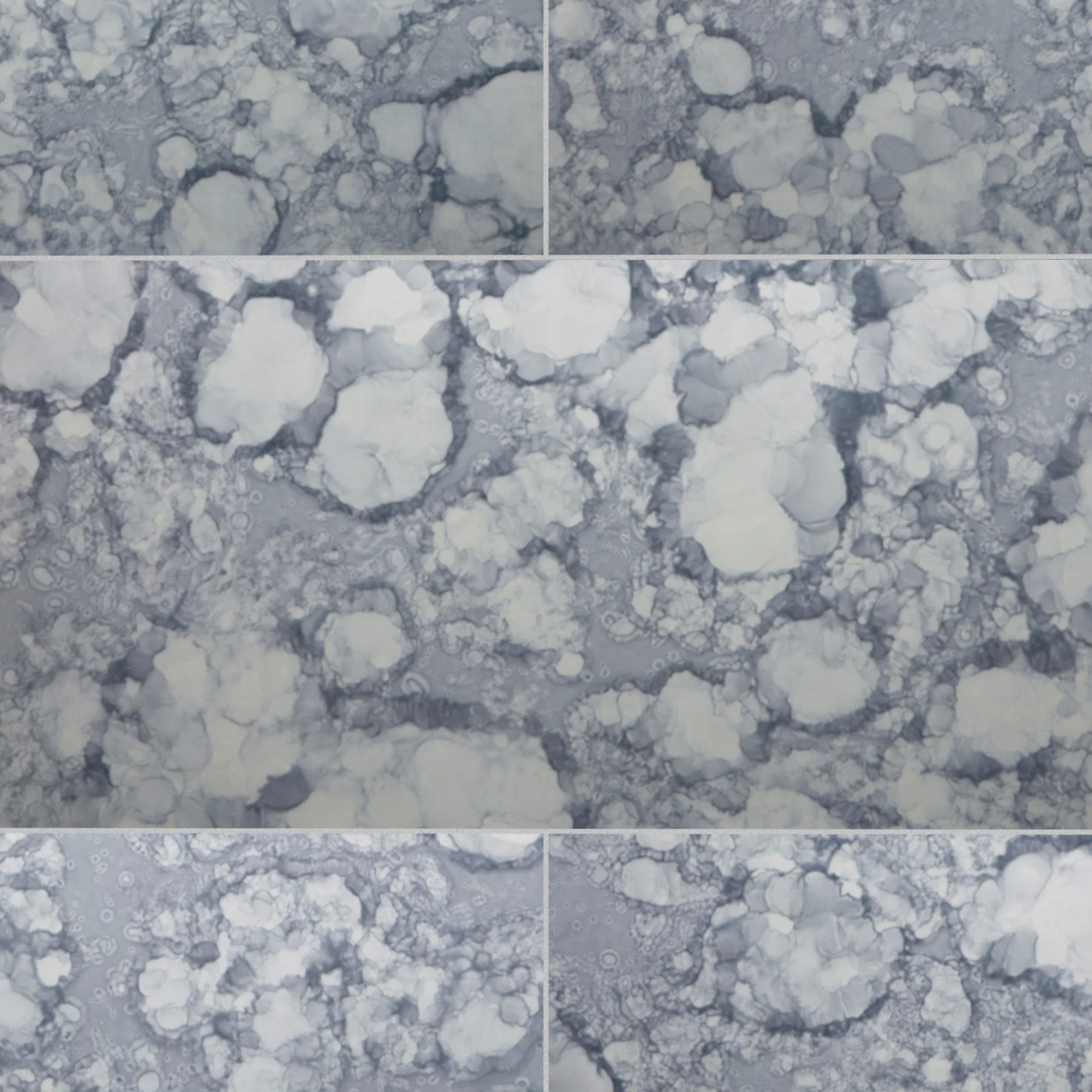 water glass field tile satin 13 1 2