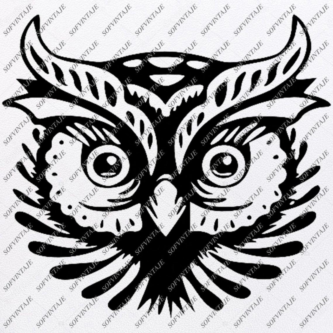 Download Owl Svg File - Owl Tattoo Svg Design-Clipart-Animals Svg ...