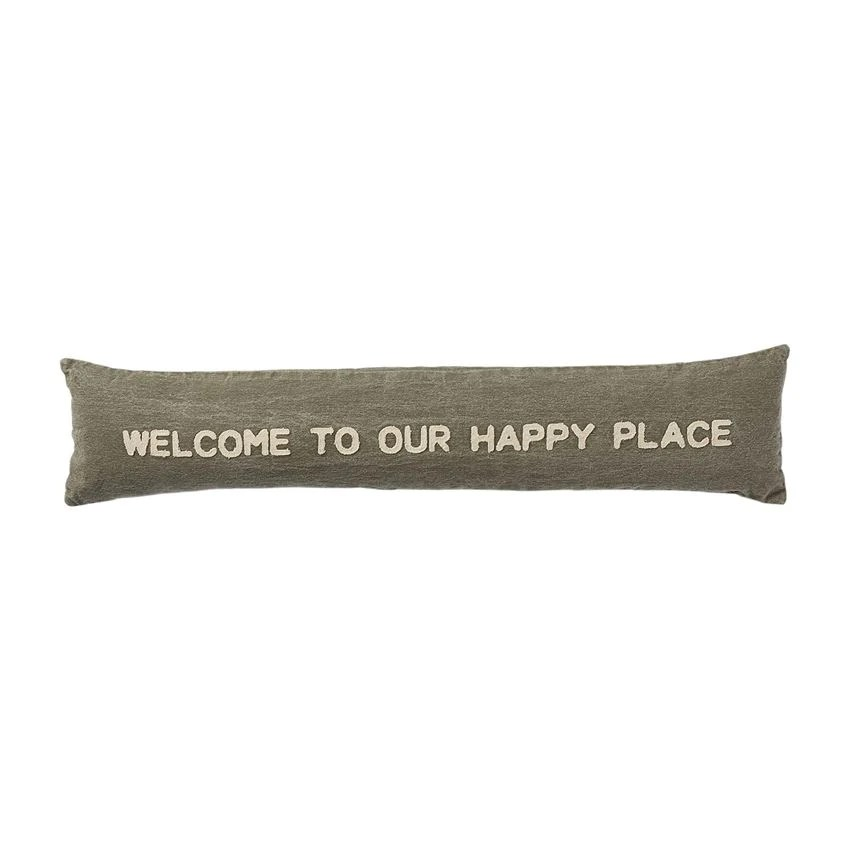 mud pie happy and home pillows