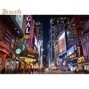 custom times square poster home