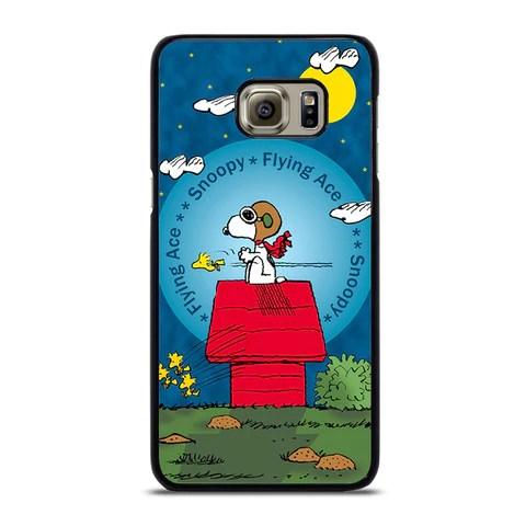 SNOOPY THE FLYING ACE Samsung Galaxy S6 Edge case – fellowcase