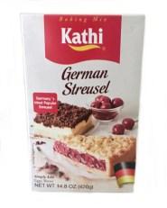 german streusel cake baking mix