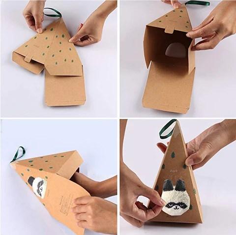 FIFY STORE Chaussettes avec Boîte Cadeau