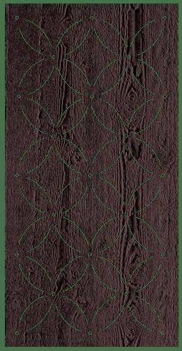 eden 600 x 1200 mm 9 mm decorative hardwood screen