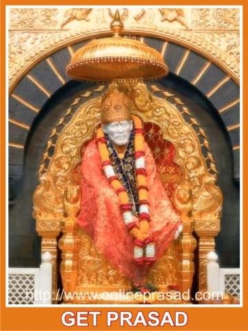 Sai Baba Prasad, Shirdi , MH-Maharashtra - Online Prasad, OnlinePrasad.com  - 1