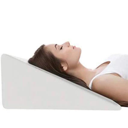 metron medical foam bed wedge pillow for acid re flux sleeping reading