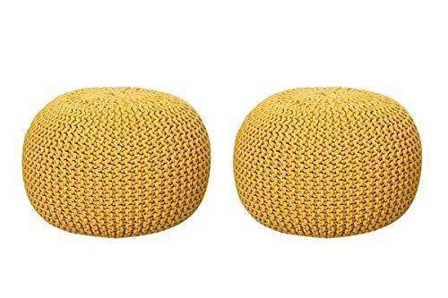 nestroots pouf puffy for living room sitting round ottoman bean filled