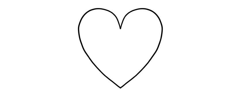 Comment Dessiner Un Coeur Reine De Coeur
