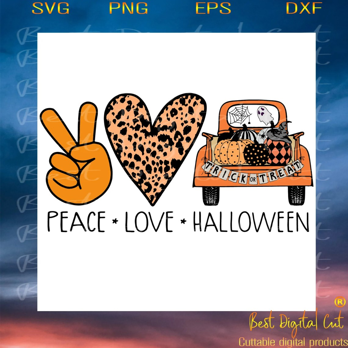 Download Peace love Halloween,Halloween svg, Halloween gift ...