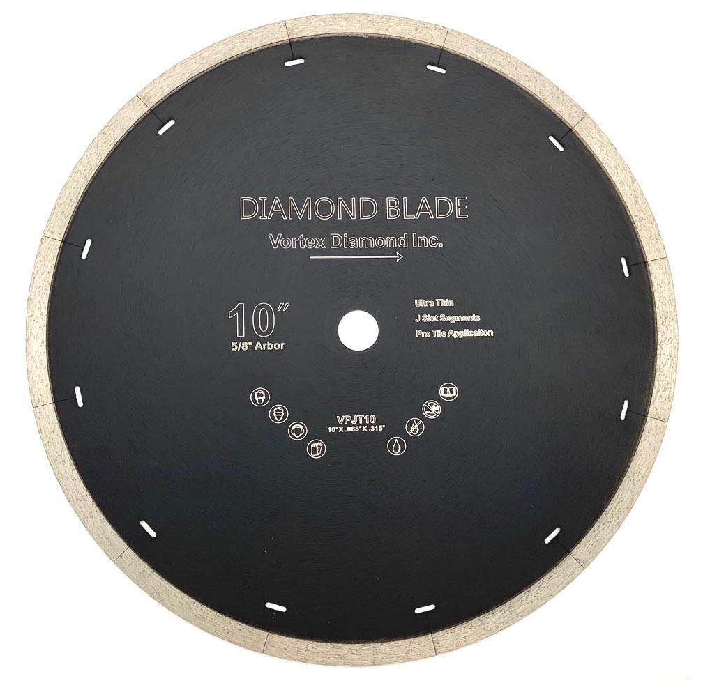vortex diamond j slot dry wet diamond blade for porcelain ceramic tile stone and similar materials