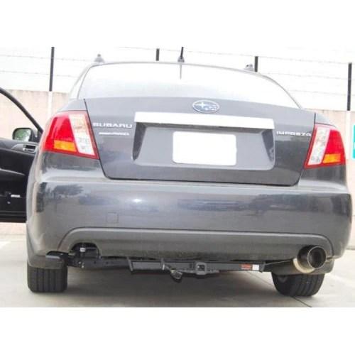 invidia n1 cat back exhaust 2008 impreza 2 5i