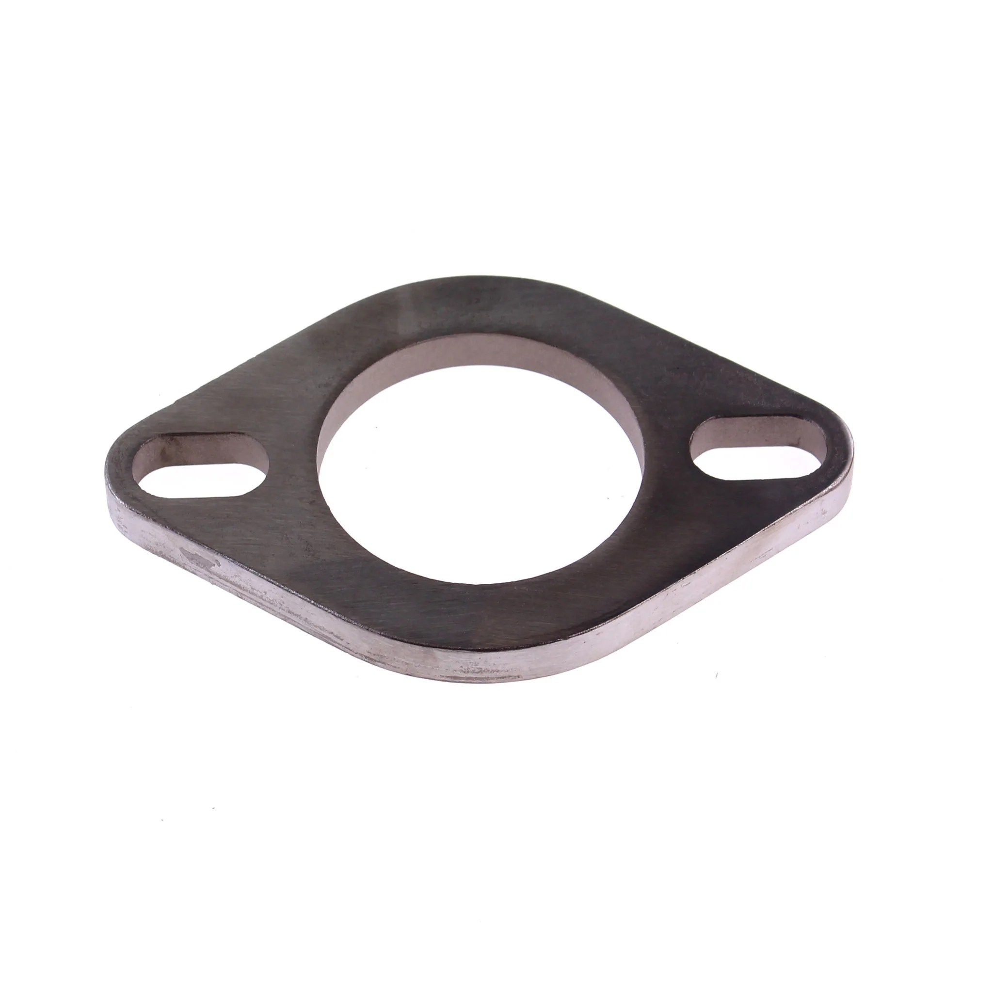 stainless steel 2 5 two bolt exhaust flange