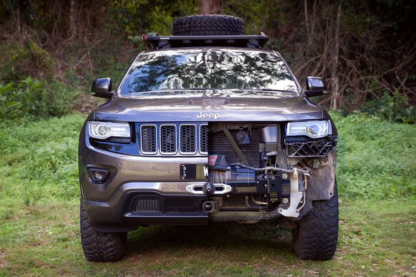 WK2 Hidden Winch Mount | Chief Products