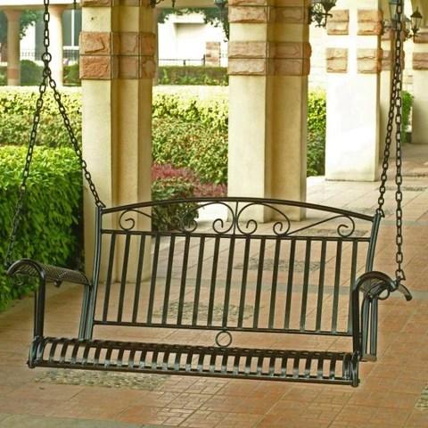 outdoor patio furniture metal porch