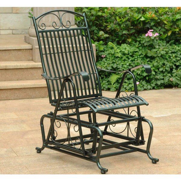 shop all wrought iron outdoor gliders
